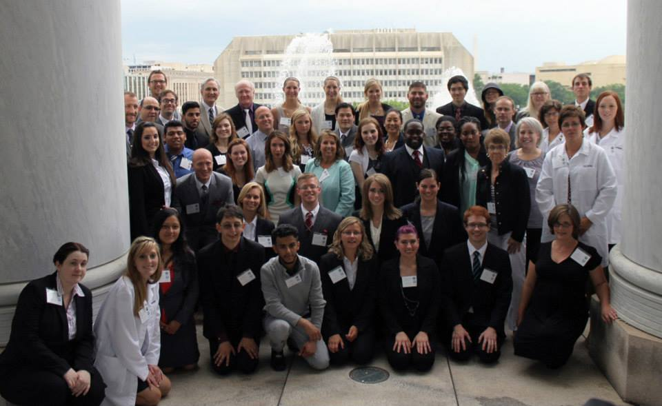 Community College Innovation Challenge 2015 group picture. We were excited to be in one of the Senate buildings pitching our projects. Photo: American Association of Community Colleges